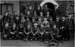 Boston Lodge staff before the First World War
